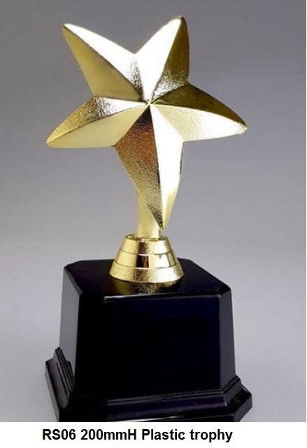 RS06 200mmH Plastic trophy