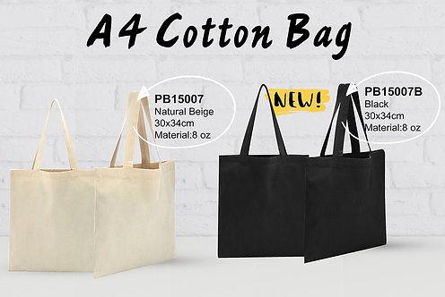 PB15007 A4 Cotton Bag 28.5x34cm