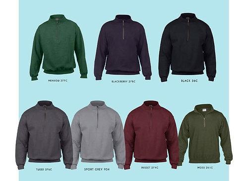 18800 Vintage cadet collar sweat shirt