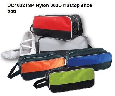 UC1002TSP Nylon 300D ribstop shoe bag