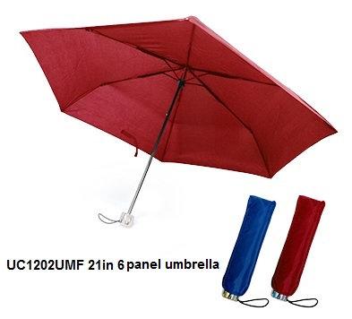 UC1202UMF 21in 6 panel umbrella