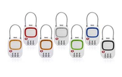 UC1001OLF Neon TSA pad lock