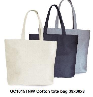 UC1015TNW Cotton tote bag 39x30x8cm
