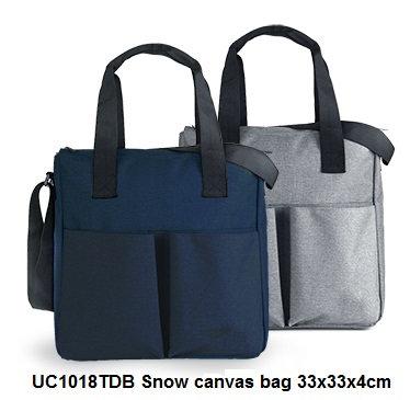 UC1018TDB Snow canvas bag 33x33x4cm