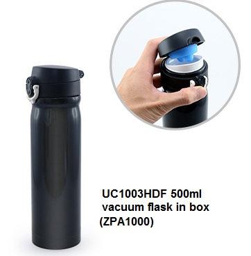 UC1003HDF 500ml vacuum flask in box ZPA1000