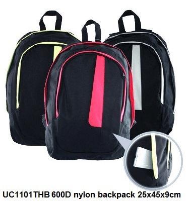 UC1101THB 600D nylon backpack 25x45x9cm