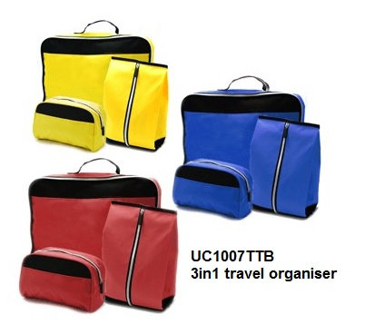 UC1007TTB 3in1 travel organiser