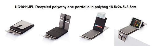 UC1011JFL Recycled polyethylene portfolio in polybag 18.5x24.5x3.5cm