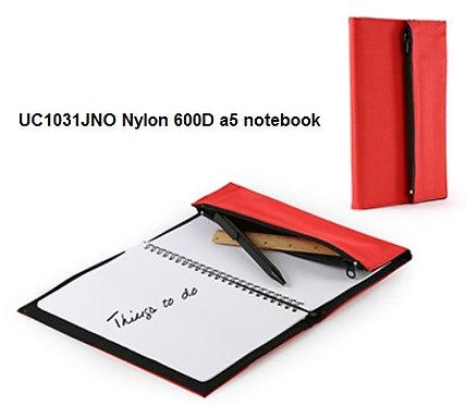 UC1031JNO Nylon 600D a5 notebook
