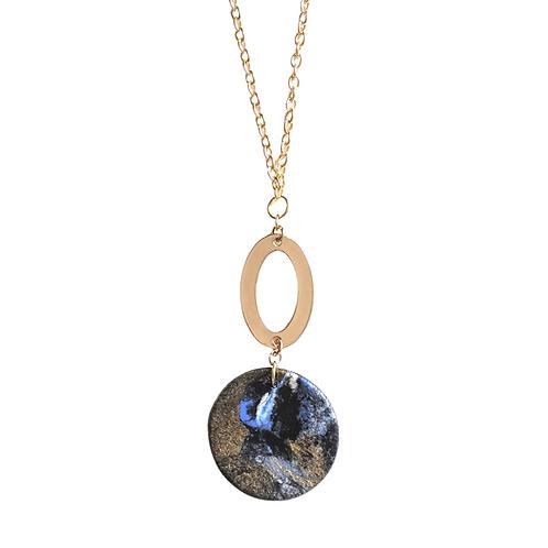 Galaxy Circle Necklace