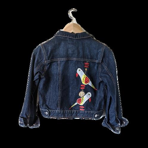 Custom Painted Denim Jacket