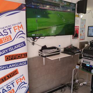 Coast FM at Sun Spot