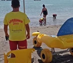 Adapted Services at Las Galletas Beach