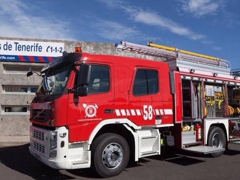 Fire Brigade called to small forest fire in Santa Cruz
