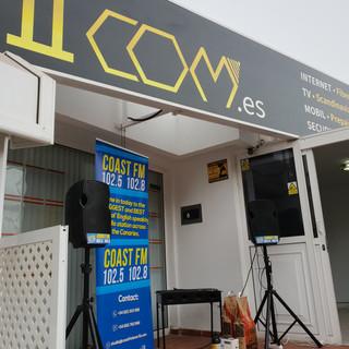 Coast FM at 1com in Puerto rico