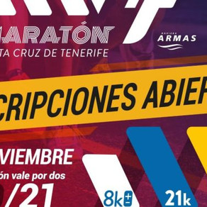 The 2021 edition of the Santa Cruz Naviera Armas International Marathon has opened its registration