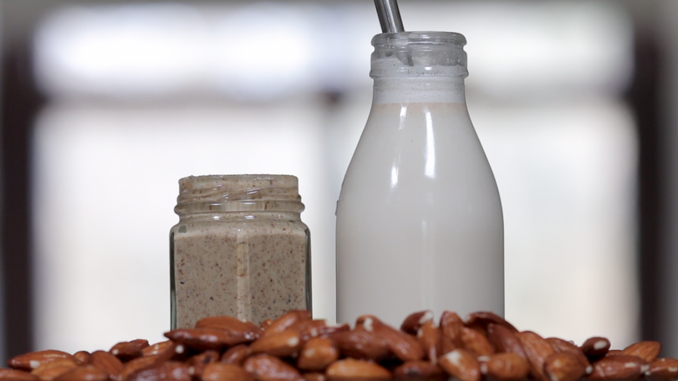 Zero Waste Raw Almond Milk & Almond Butter