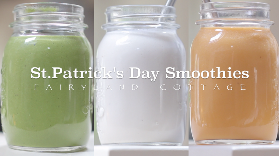 St. Patrick's Day Smoothies