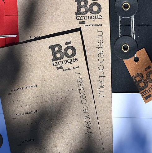 Bo-tannique - Une idée cadeau à offrir toute l'année… Le chèque-cadeau