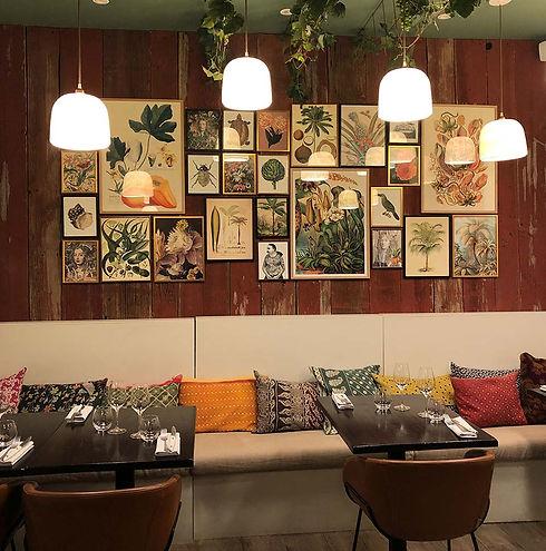 Bo-tannique - restaurant - la salle