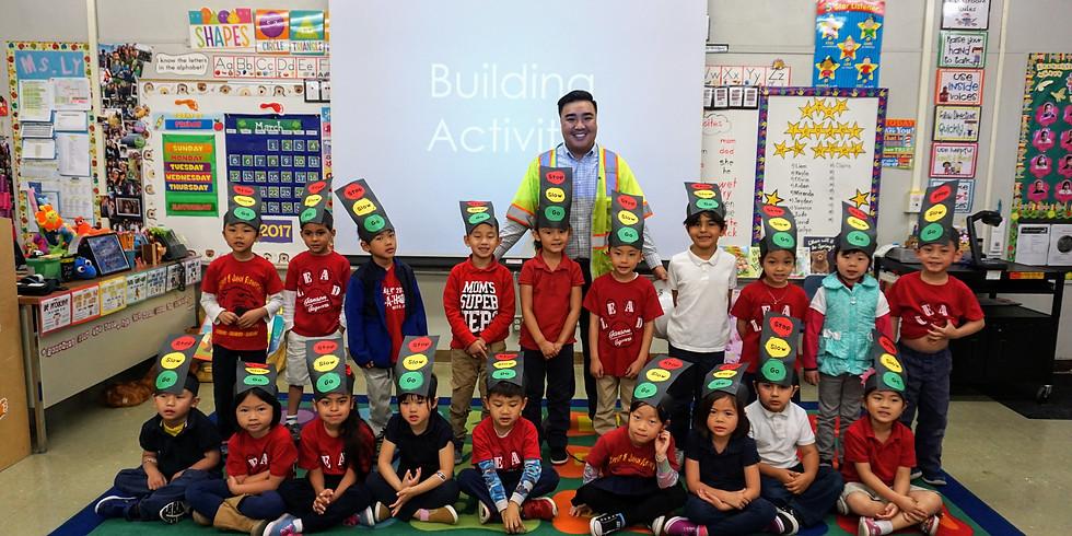 Janson Elementary Kindergarten Class K-12 Outreach