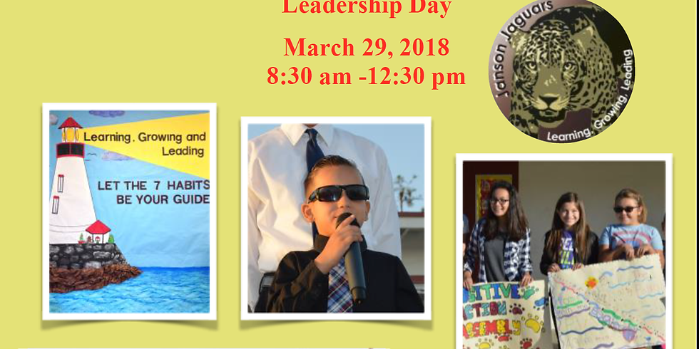 Janson Elementary Leadership Day