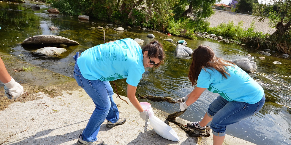 The Great LA River CleanUp 2019
