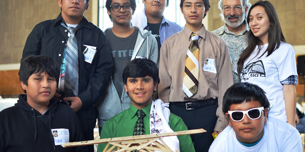 Volunteer for Popsicle Stick Bridge Competition