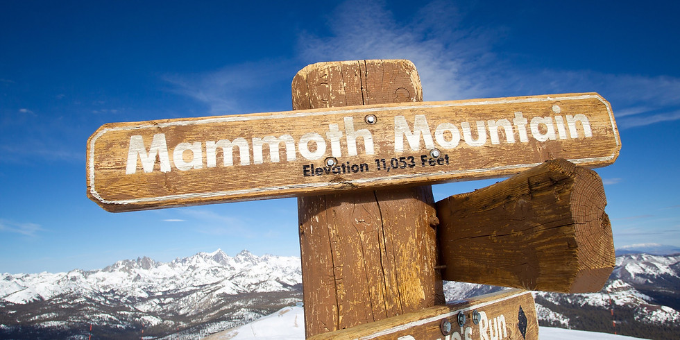 Mammoth Mountain -  Annual Joint YMF Ski Trip