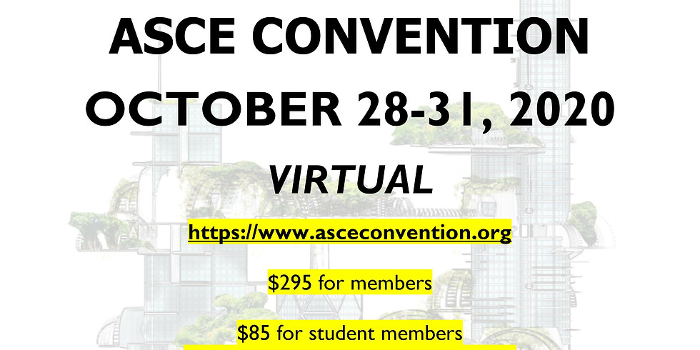 ASCE LA Section Joint YMFs Student Sponsorships for Virtual Convention