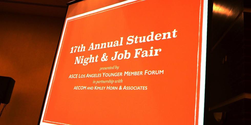 Student Night Job Fair Sponsorship