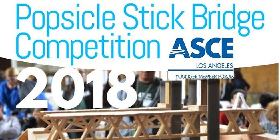 Popsicle Stick Bridge Competition Team Registration