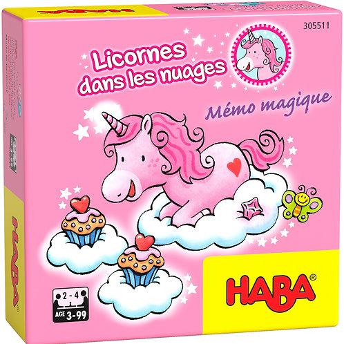 Licornes dans les nuages memo