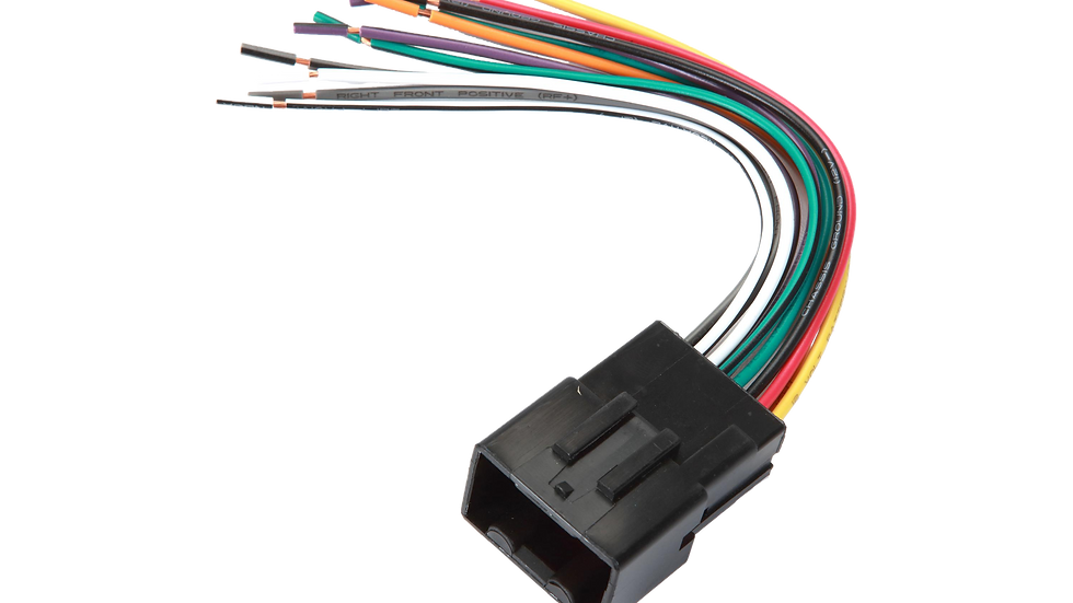 Metra 70-1771 Receiver Wiring HarnessConnect for 1998-2011 Ford, Lincoln, Mercur