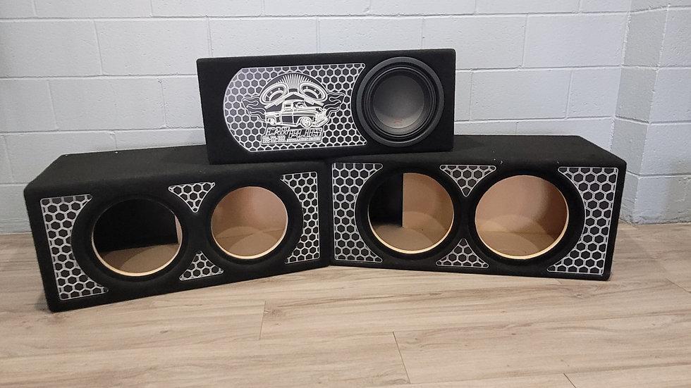 "Dual 10"" Ported Bass Enclosure"