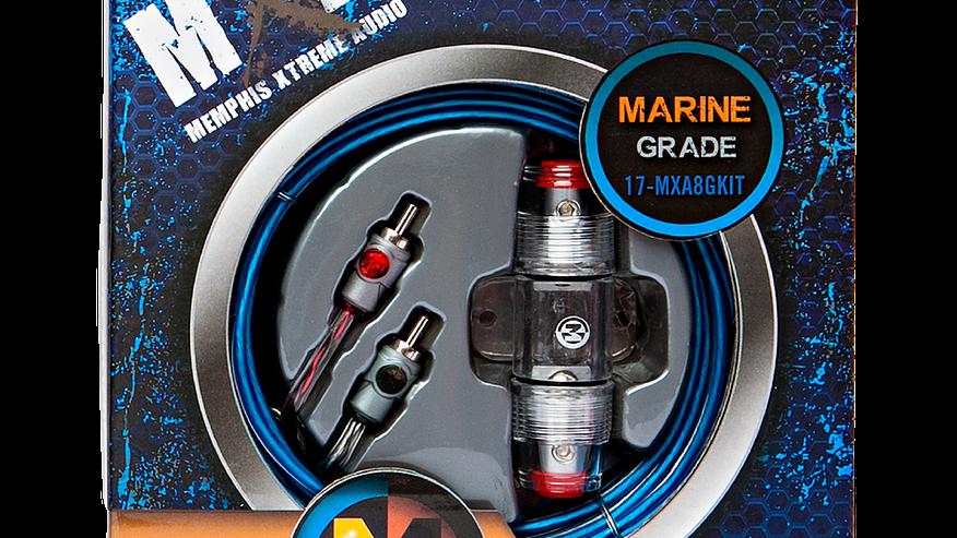 MXA8GKIT - 8 AWG Marine Grade Amp Kit