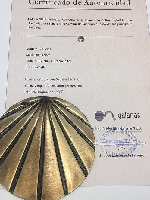 Concha Galicia Bronce