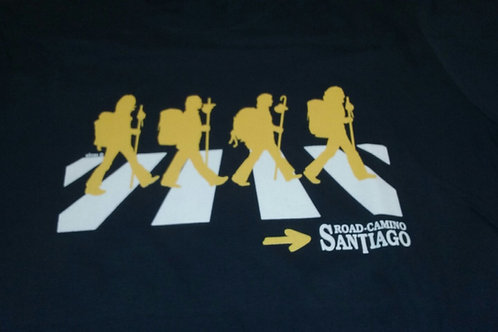 Camiseta Beatles Santiago Road