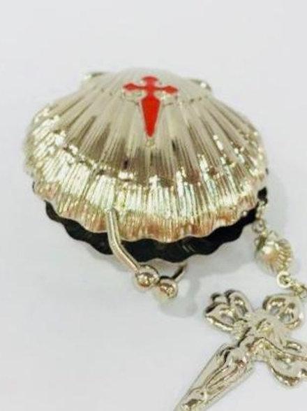 Rosariera con rosario