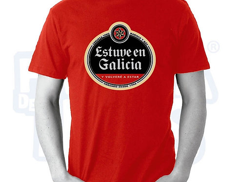 Camiseta Estuve en Galicia