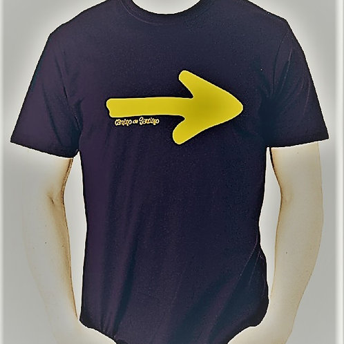 Camiseta Flecha Grande Camino Santiago