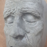 Old age sculpture