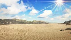 背景画像砂