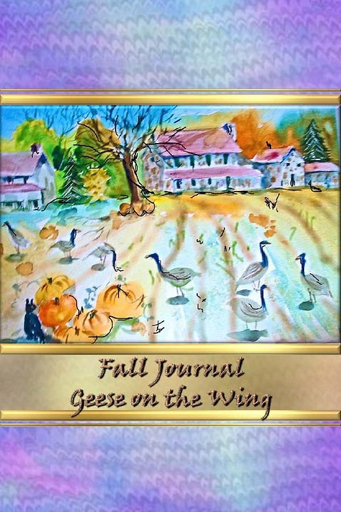 Fall Journal - Geese on the Wing