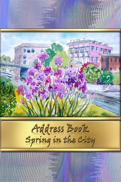 Address Book - Spring in the City