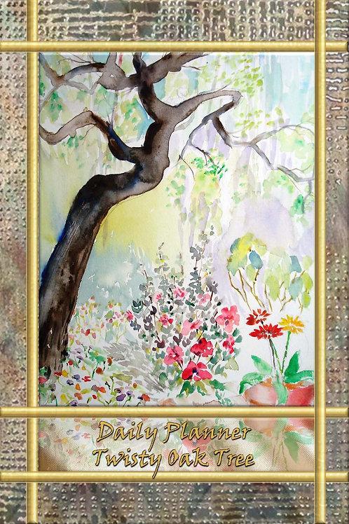 Daily Planner - Twisty Oak Tree