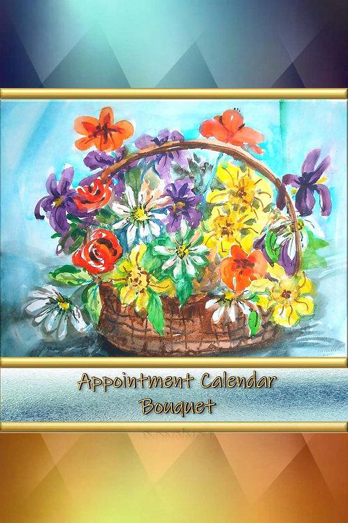 Appointment Calendar - Bouquet