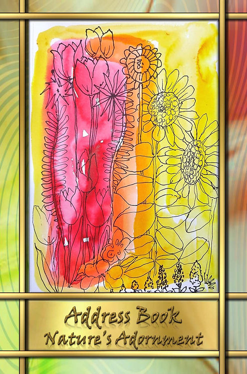 Address Book - Nature's Adornment