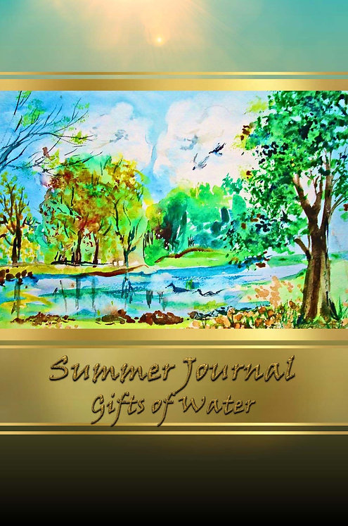 Summer Journal - Gifts of Water