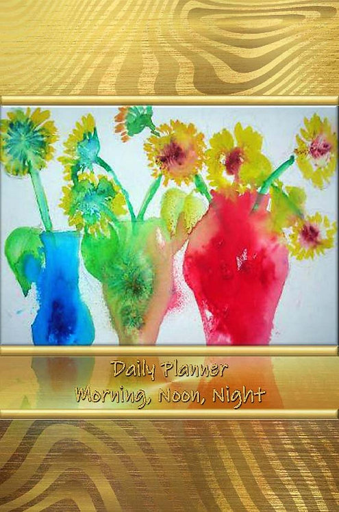 Daily Planner - Morning, Noon, Night